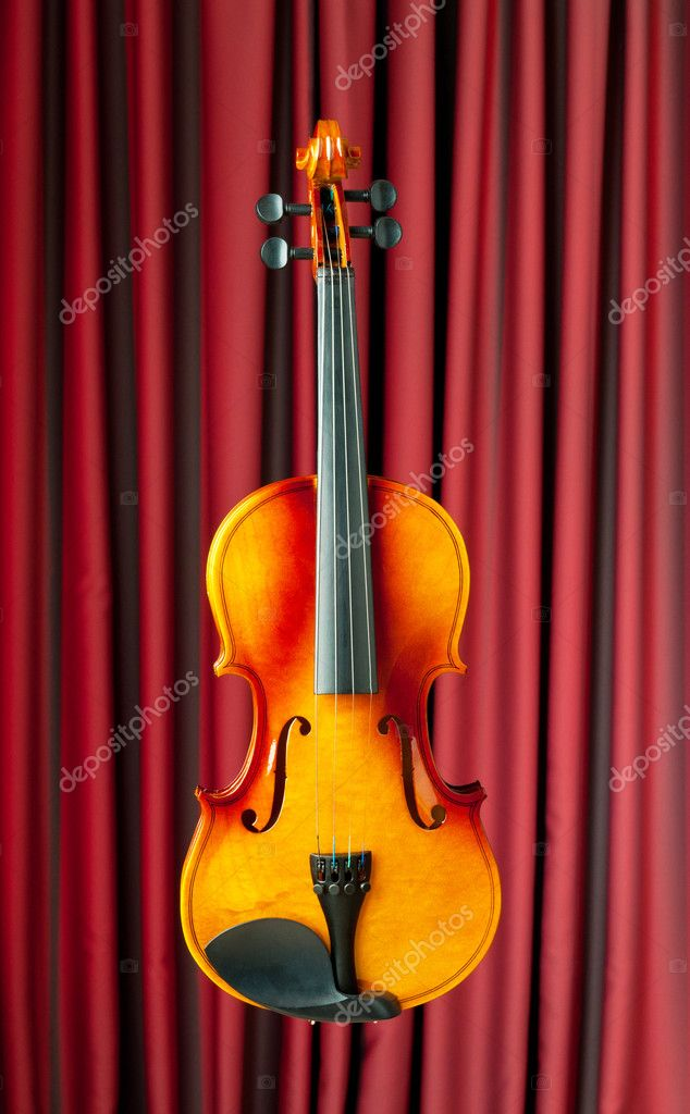 Music concept with violin — Stock Photo #6346590