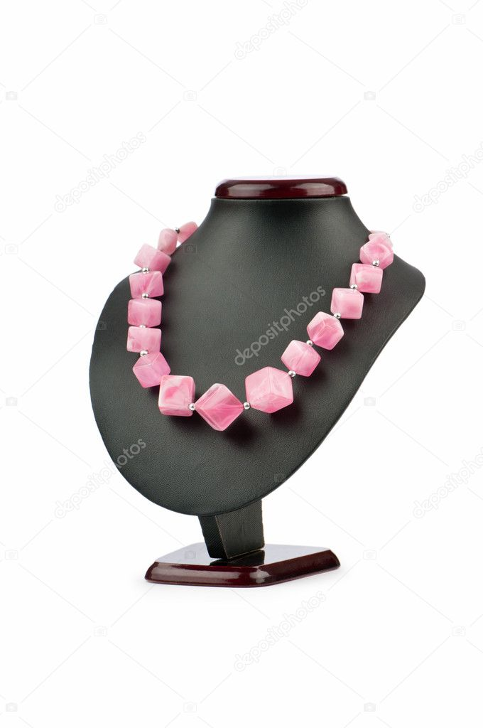 Fashion concept with necklace — Stock Photo #6351024