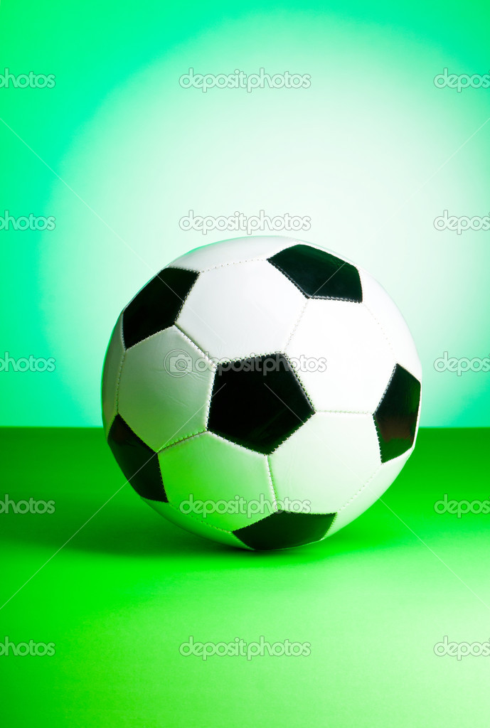 Sporting concept with football  — Stock Photo #6409965