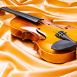 Violing in music concept — Stock Photo