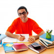 Stock Photo: Education concept with student