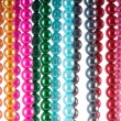 Abstract with colourful pearl necklaces — Stockfoto