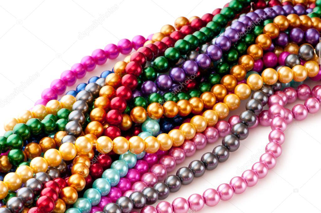 Astratto Con Collane di Perle