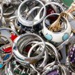 Royalty-Free Stock Photo: Selection of many precious rings