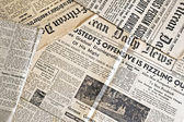 Ancient newspapers — Stock Photo
