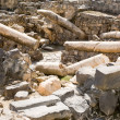 Stock Photo: Ruins of Roman-Byzantine Scythopolis in Beit Shean