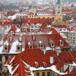 Houses in Prague - Stock Photo