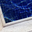 Side of swimming pool — Stock Photo