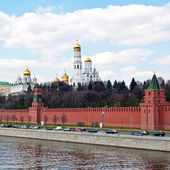 Moscow Kremlin Wall — Stock Photo