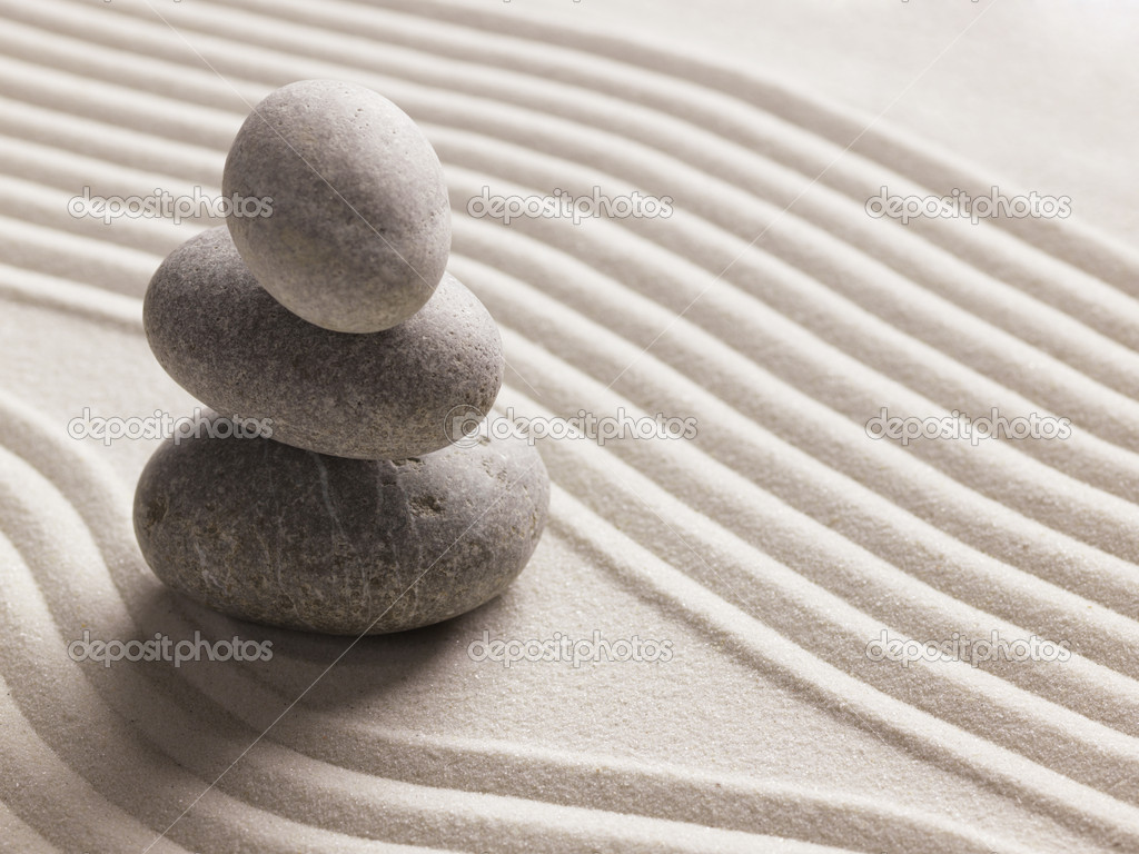Zen stone background — Stock Photo #5442601