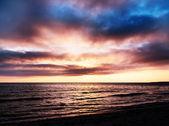Sea sunset landscape image — Stock Photo