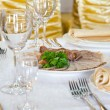 Banquet table — Stock Photo #5382517