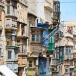 Architecture details of Malta — Stock Photo