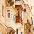 Architecture details of Malta - Stock Photo