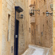 mdina narrow street — Stock Photo #5621437