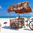 Beach bar bike — Stock Photo #5848255