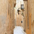 Mdina narrow street — Foto de Stock