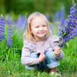 Little girl in meadow — Stock Photo #6051634