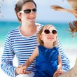 Father and daughter on Caribbean vacation — Stock Photo #6118715