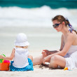 Mother and daughter on vacation — Stock Photo #6231247