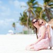 Mother and daughter on vacation — Stock Photo #6309060
