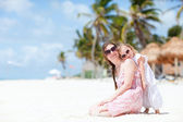 Mother and daughter on vacation — Fotografia Stock