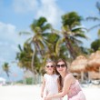 Mother and daughter on vacation — Stock Photo #6393981