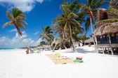 красивый карибский пляж — Стоковое фото