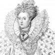 Elizabeth I - Stock Photo