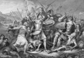 Battle of Agincourt — Stock Photo