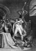Death of Richard II — Stock Photo