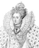 Elizabeth I — Stock Photo