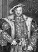 Henry VIII King of England — Stock Photo