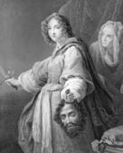 Judith with the Head of Holofernes — Stock Photo