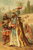 Muslim Man in Turban — Stock Photo