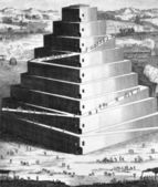 The Tower of Babel — Stock Photo