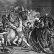 Stock Photo: William Walworth Lord Mayor of London Killing Wat Tyler