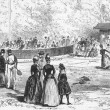 19th Century Tennis in Germany — Stock Photo #5600194