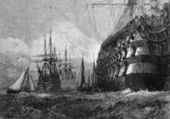 Big Warship — Stock Photo