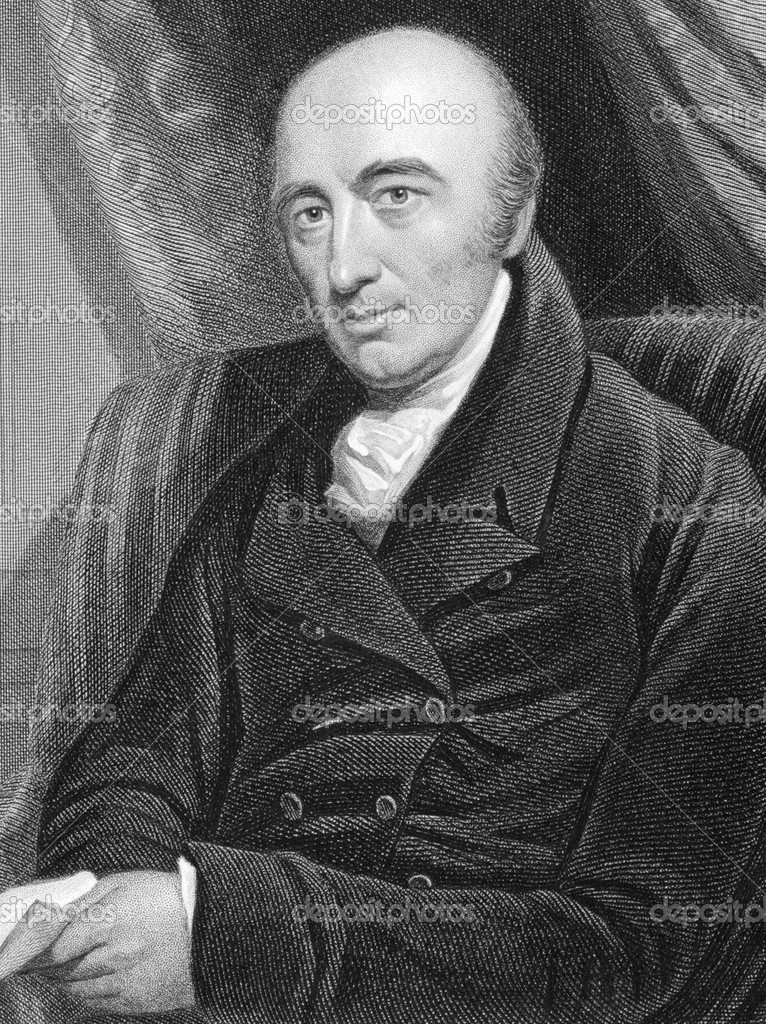 William Hyde Wollaston (1766-1828) on engraving from 1800s. English chemist and physicist who is famous for discovering two chemical elements and for developing — Stock Photo #5864693