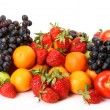 Ripe berries and fruit — Stock Photo