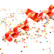 Streamer and confetti — Stock Photo #6542751