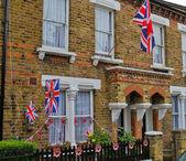 Royal wedding celebration in London — Stock fotografie