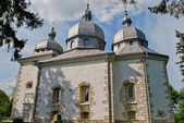 Ancient orthodox church on the hill. First built in the 9th century.There i — Foto de Stock
