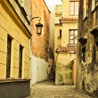 Stock Photo: Narrow Europestreet