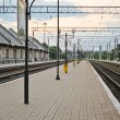 Stock Photo: Railway station