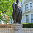 Modern statue of Volodymyr Great in London — Stock Photo #6507956