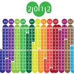 Calendar 2012 — Stock Vector #5807750