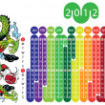 Calendar 2012 — Stock Vector #5807775
