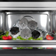 Five british kittens in the oven — Stock Photo